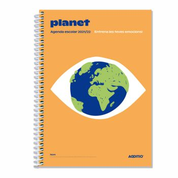 AGENDA ESCOLAR PLANET ADDITIO