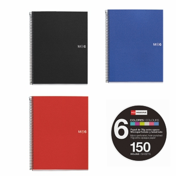 QUADERN MICROPERFORAT NOTEBOOK 6
