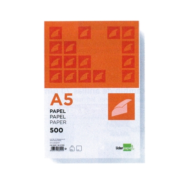 PAPER BLANC A5 80GRS LIDERPAPEL