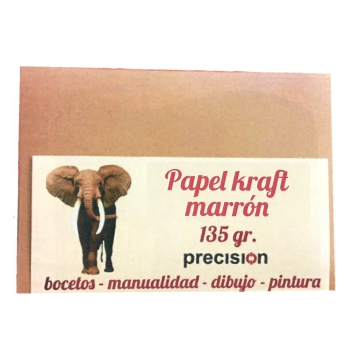 "PAPEL MARRÓN ""ELEFANTE"" 135G."
