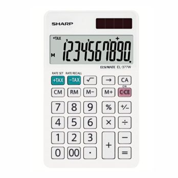 CALCULADORA SHARP EL 377W