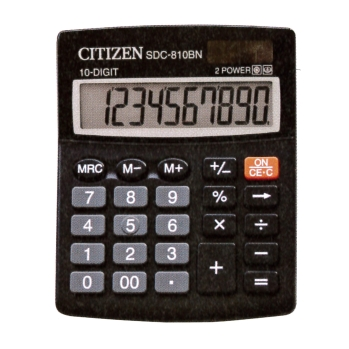 CALCULADORA CITIZEN SDC-810-BN