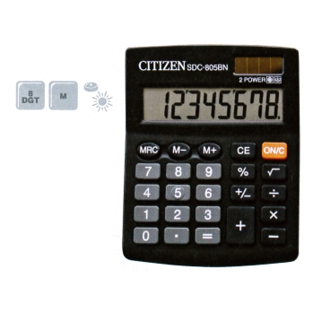CALCULADORA CITIZEN 8 DÍGITS